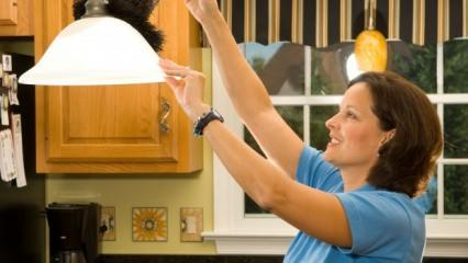 Lamba nasıl temizlenir? Lamba temizlerken nelere dikkat edilmeli?