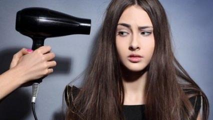 Saçlarınızı kuruturken dikkat etmeniz gerekenler