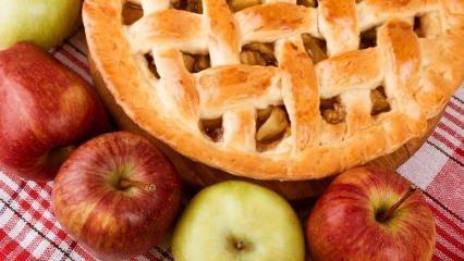 Nefis elmalı turta tarifi