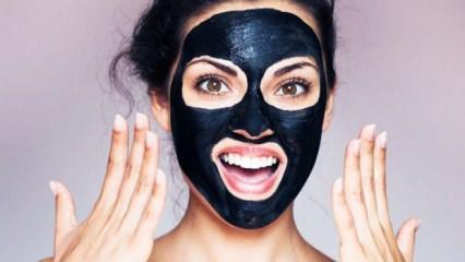 Kömür maskesi nasıl yapılır faydaları nelerdir?