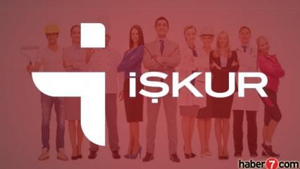 İŞKUR'dan ilköğretim mezunu 72.000 personel alımı! Türkiye geneli başvuru..