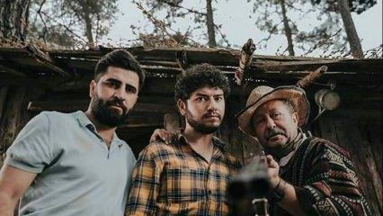 Tiyatro oyuncu Rutkay Azizden torun sürprizi