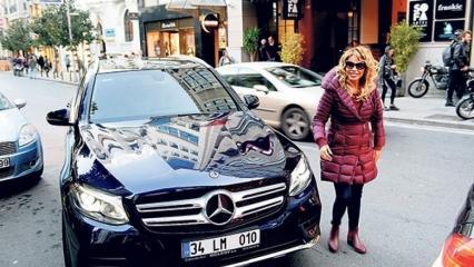 Şarkıcı Linet yeni araç aldı