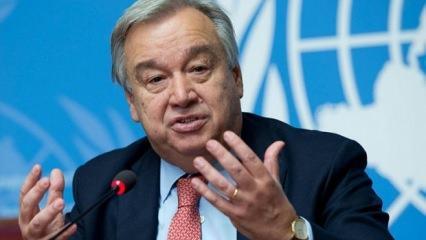 BM'den son dakika Kıbrıs açıklaması