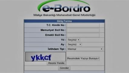 e-Bordro Sorgulama! e-Bordro Maaş bilgisi nasıl öğrenilir? Hizmetler...