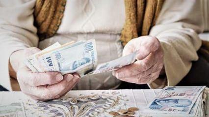 Emeklilere asgari ücretin 3 katı avans imkanı! Faizsiz, taksitle geri ödeme...