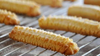 Evde tırtıl kurabiye tarifi