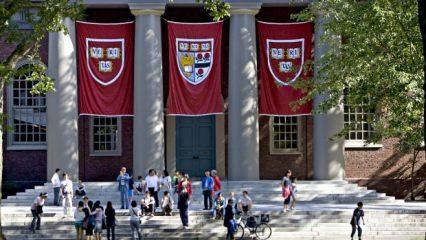 """Harvard Üniversitesine """"ırkçılık"""" davası"""