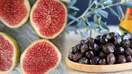 İncirin faydaları nelerdir? Her gün 7 zeytin 1 incir yerseniz ne olur?