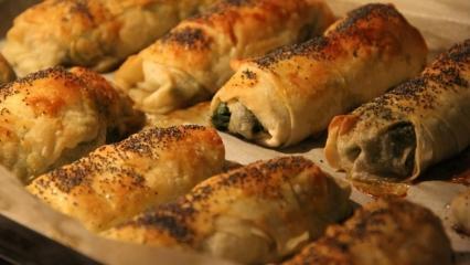 Karbonatlı börek nasıl yapılır?