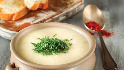 Lezzetli kereviz çorbası nasıl yapılır?