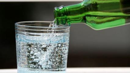 Maden suyunu neden şişeden içmek gerekir? Yanlış bilinen gerçek...