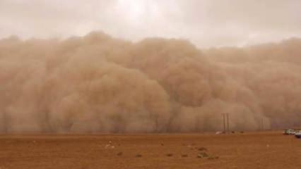 Meteoroloji uyardı! Toz bulutu geliyor...
