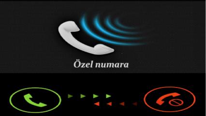 Özel numara (Gizli numara) nasıl bulunur, Arayan kişiyi öğrenmek için…