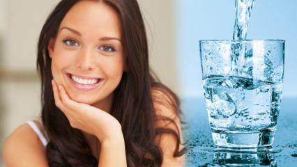 Su içerek nasıl kilo verilir? Sadece 1 haftada 7 kilo zayıflatan su diyeti