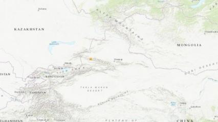 Sincan Uygur Özerk Bölgesi'nde deprem