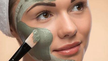 Solgun ciltler için bezelye maskesi