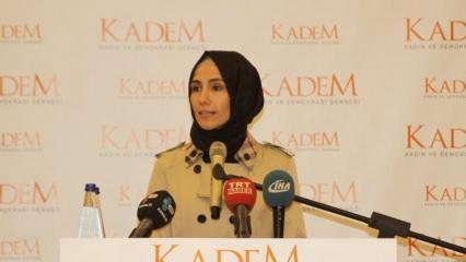 Sümeyye Erdoğan Bayraktar KADEM açılışına katıldı
