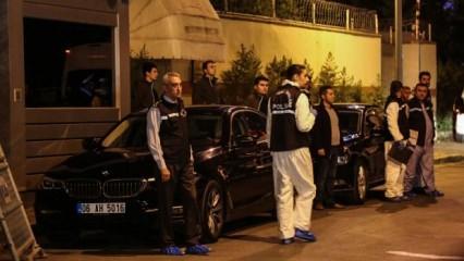 Türk polisi Suudi Konsolosluğu'nda!