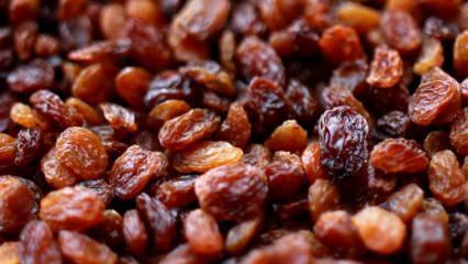 21 kuru üzümün faydaları nelerdir?