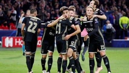 Ajax Benfica'yı 90+2'de yıktı