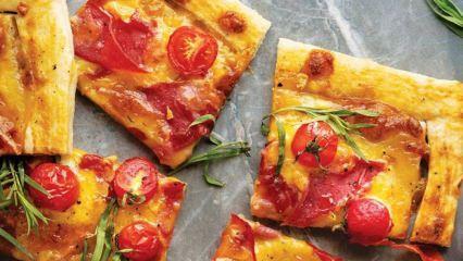 En kolay domatesli tart nasıl yapılır?