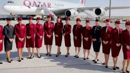 Katar Havayolları 15 bin lira maaşla Kabin Memuru alımı! En az lise mezunu...