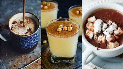 Kışın içinizi ısıtacak içecek tarifleri