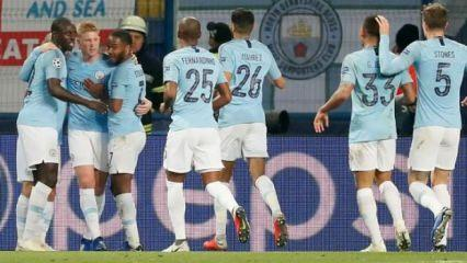 Manchester City Shakhtar'ı dağıttı