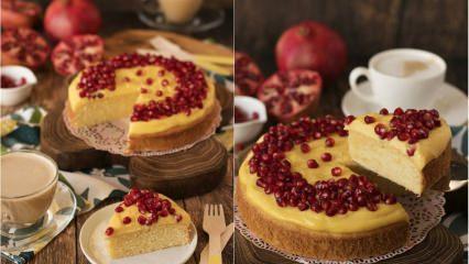 Pratik vanilyalı pasta tarifi