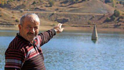 Sivas'ta bu camiye sular altından...