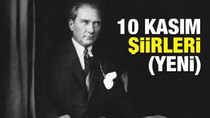 En özel 10 Kasım Atatürk'ü Anma şiirleri! 2, 4, 6 kıtalık şiirler ekranı