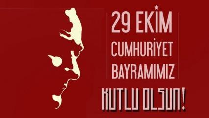 29 Ekim Cumhuriyet Bayramına özel anlamı resimli mesajlar! (Yeni)