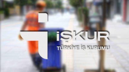 İŞKUR'dan TYP ile çevre temizliği personeli alımı! Başvuru ekranı ve şartları...