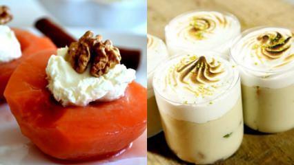 Evde pratik meyve tatlıları tarifi
