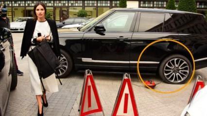 Yasemin Özilhan davete ciple geldi taksi ile döndü