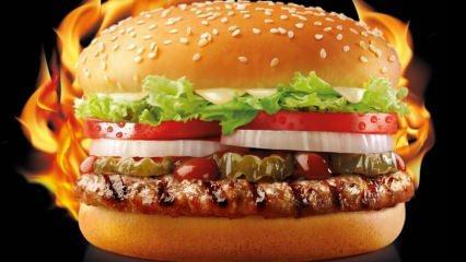 Fast food yemek kilo aldırır mı? Hamburger yiyenler dikkat!