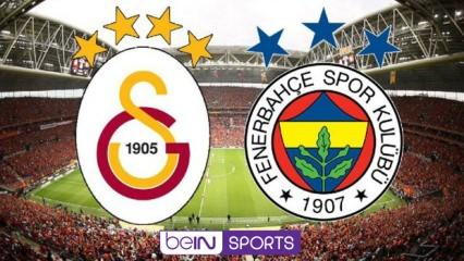 Galatasaray Fenerbahçe maçını veren yabancı kanallar! (Şifresiz)