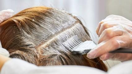 Saç boyası saç döker mi? Saç boyasının zararları nelerdir?