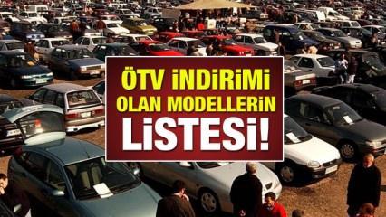 Otomobil fiyatlarında ÖTV indirimi ne kadar? ÖTV'li araç fiyatları 2018