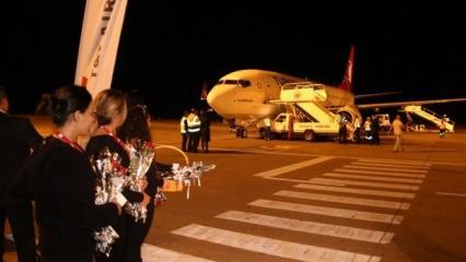 Yeni Havalimanı'ndan ilk yurt dışı sefer yapıldı!
