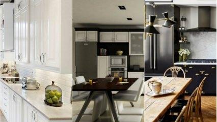 2018-19 Kullanışlı mutfak dekorasyonları