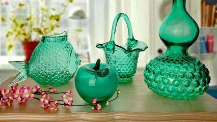 Cam vazo ev dekorasyon önerileri