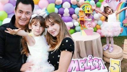 Acun ılıcalı'nın kızı Melisa 5 yaşında!
