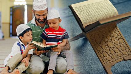 Çocuklara Namaz ve Kuran nasıl öğretilir? Çocuklarda din eğitimi...