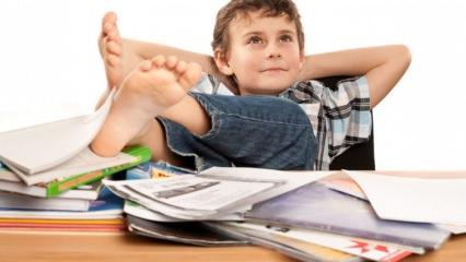 Çocuklar neden ders çalışmak istemez?