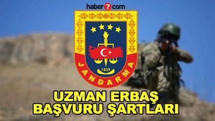 Jandarma uzman erbaş alımı başvuruları devam ediyor! Başvuru şartları neler?