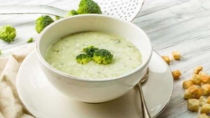 Peynirli brokoli çorbası nasıl yapılır?