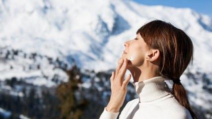 Soğuk havalardan cilt nasıl korunur?
