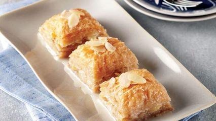 Sütlü nuriye tatlısı nasıl yapılır?